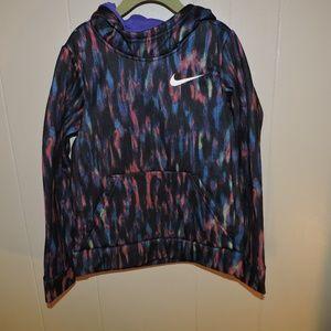 Girls Nike Hoodie Dri-Fit Sweatshirt Small
